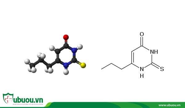Cấu tạo nguyên tử của thuốc tyrad chữa u tuyến giáp