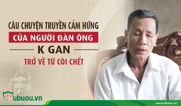 Bác Trần Đình Tuyến can đảm vượt qua ung thư gan