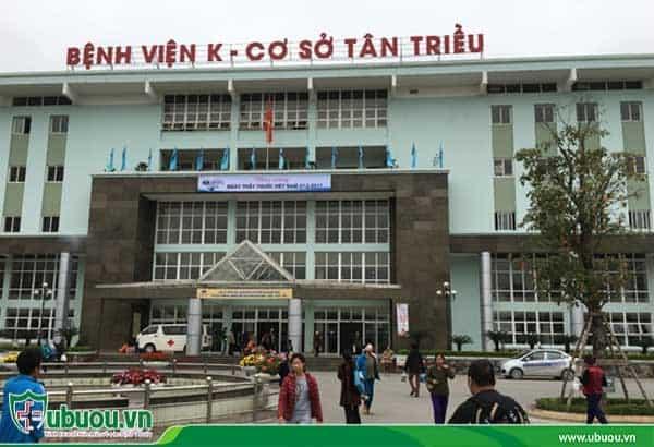 Bệnh viện K là đơn vị y tế đầu ngành về bệnh ung thư gan
