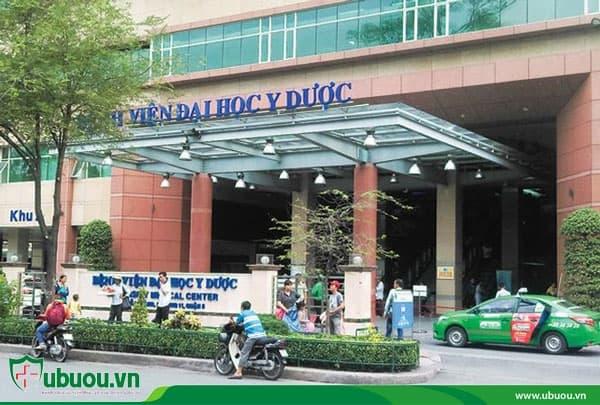Bệnh viện Đại học Y Dược TPHCM là một địa chỉ điều trị ung thư