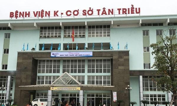 Bệnh viện K cơ sở 3 Tân Triều