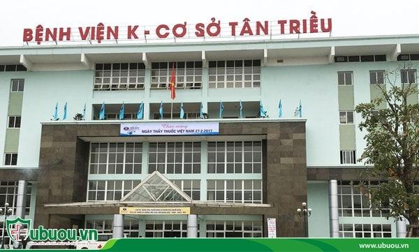 Bệnh viện K là địa chỉ điều trị ung thư tuyến giáp uy tín