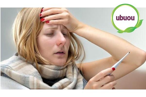Người bệnh xơ gan giai đoạn đầu hay bị nóng sốt nhẹ