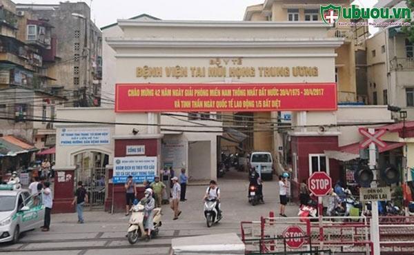 Khoa khám bệnh của bệnh viện Tai Mũi Họng TW