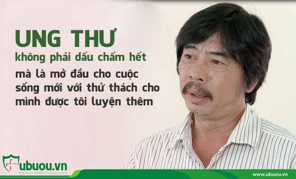 Đạo diễn Hồ Vân đối mặt với ung thư vòm họng