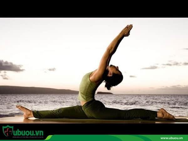 Tập luyện Yoga, thể dục