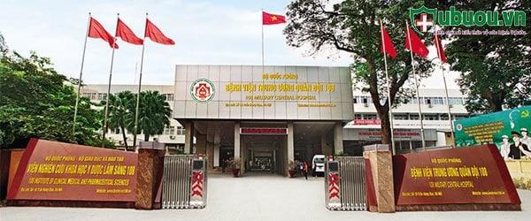Khoa khám bệnh bệnh viện TW quân đội 108