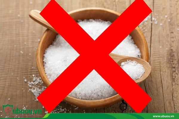 Không sử dụng thực phẩm có iot khi điều trị bằng I-131