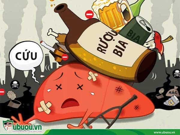 Tránh sử dụng đồ uống có hại cho gan làm tình trạng ung thư gan nặng thêm