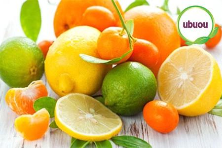 Bổ sung trái cây như bưởi, cam, chanh…