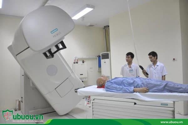 Phương pháp xạ trị ung thư hạch bạch huyết
