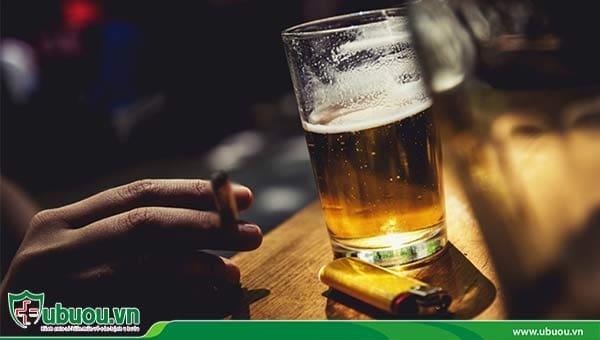 Rượu bia nhiều là nguyên nhân dẫn tới bệnh ung thư gan