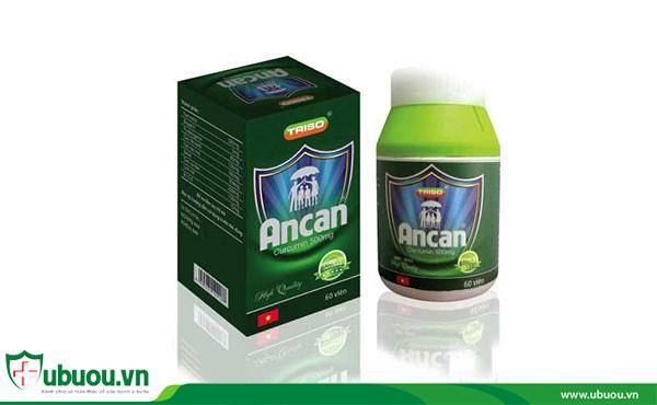 Thức phẩm chức năng Ancan hỗ trợ điều trị ung thư vòm họng