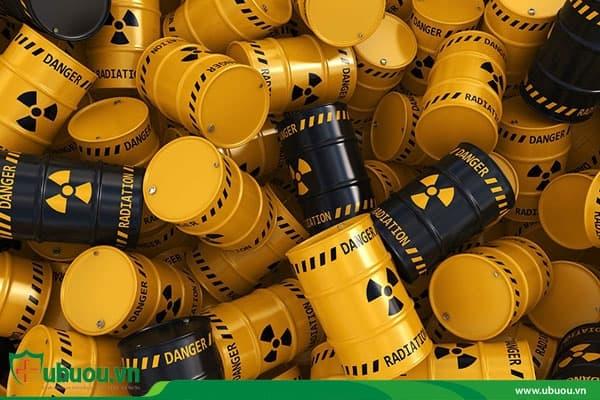 Tiếp xúc với chất phóng xạ nồng độ cao gây ung thư