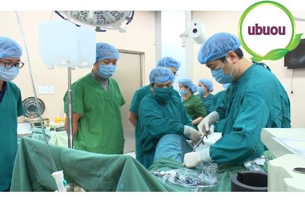 Phẫu thuật điều trị u nang buồng trứng trái