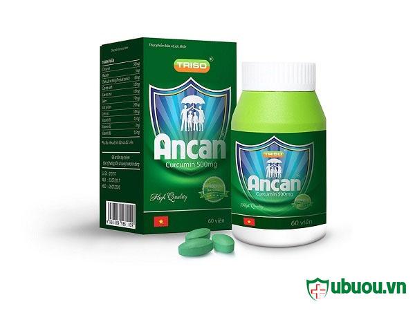 Một sản phẩm ancan được bán với giá 1.250.000 VND