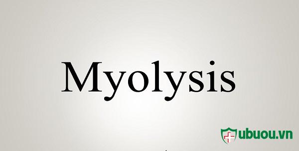 myolysis tác nhân trong u xơ tử cung