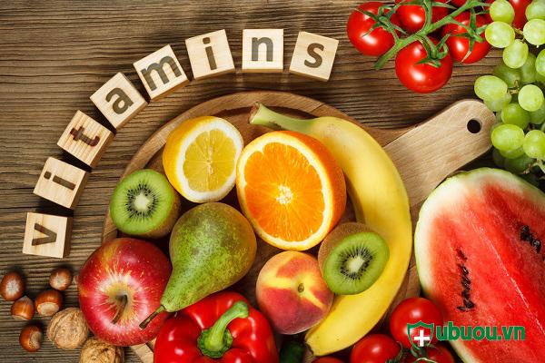 Vitamin trong nhiều trong các loại hoa quả