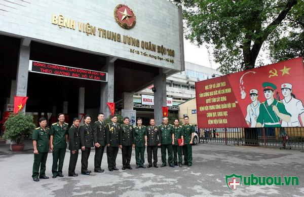 Bệnh viện quân đội 108 điều trị ung thư tuyến giáp