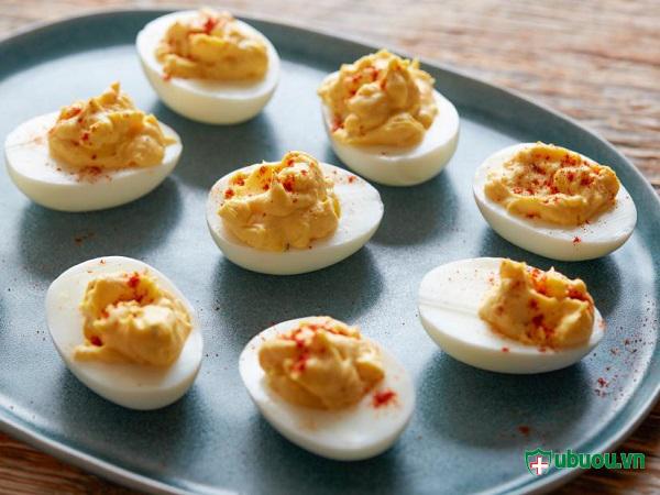 chế biến trứng để ăn được nhiều hơn