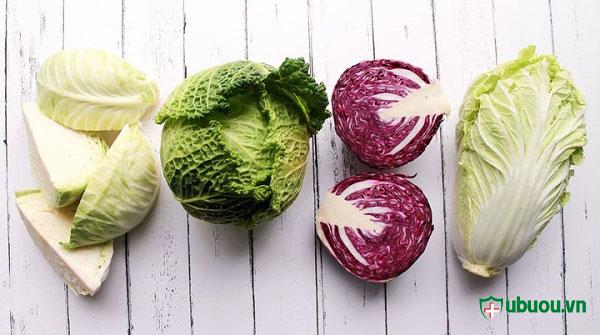 nhiều loại bắp cải chứa thành phần các chất dinh dưỡng cao