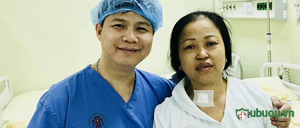 Bệnh nhân 108 điều trị ung thư tuyến giáp