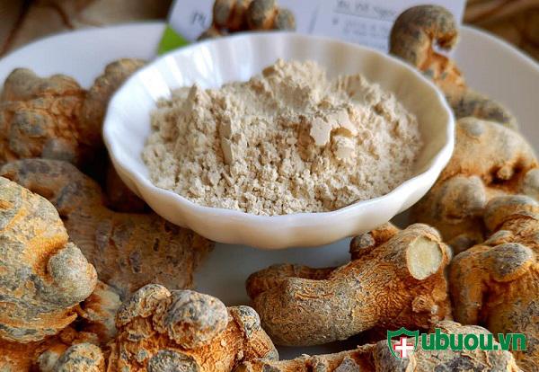 bột tam thất có khả năng điều trị u tuyến giáp