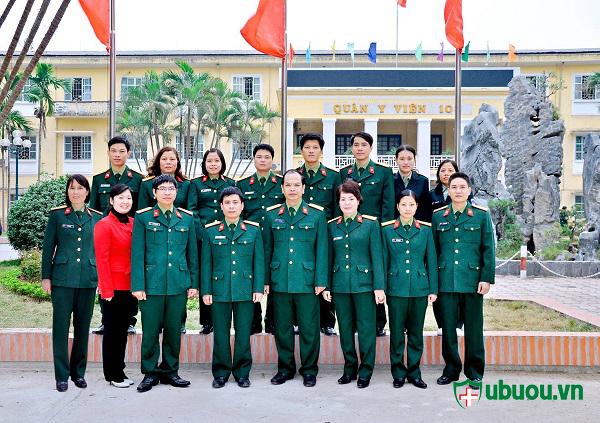 Đội ngũ y bác sỹ bệnh viên 103
