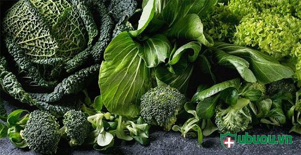 Người bị u tuyến giáp nên ăn nhiều rau xanh