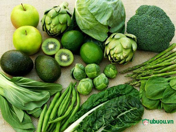 u tuyến giáp nên ăn nhiều rau quả