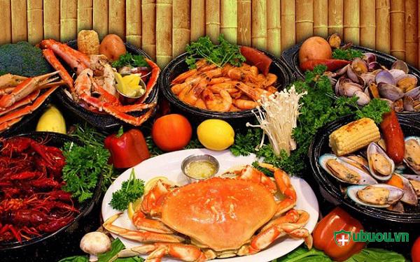 hạn chế ăn hải sản khi bị u tuyến giáp đặc biệt khi xạ trị