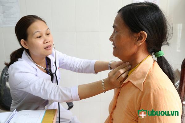 Khám lâm sàng bệnh Basedow
