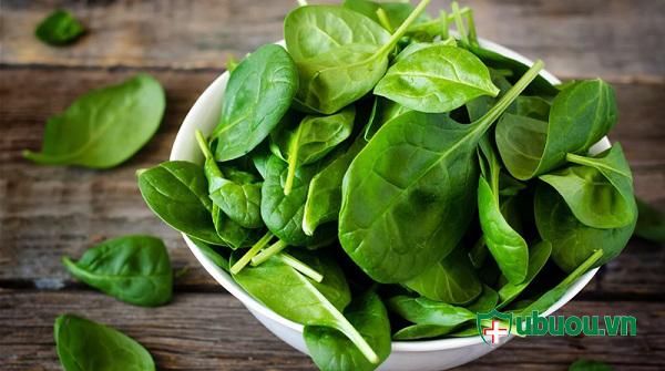 Ăn nhiều rau xanh tốt cho việc điều trị phình tuyến giáp