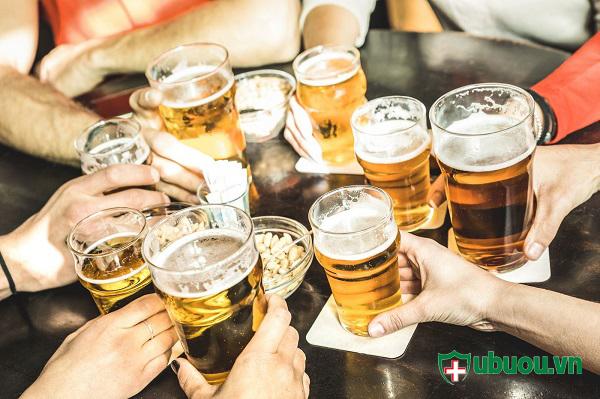 Rượu bia và các chất kích thích không tốt cho quá trình điều trị bệnh