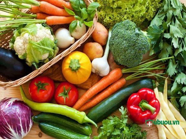 Một chế độ ăn nhiều rau xanh tốt cho gan